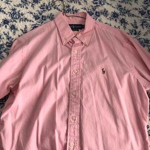 Ralph Lauren pink Oxford shirt